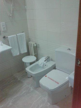 Hotel Blanca de Navarra: WC