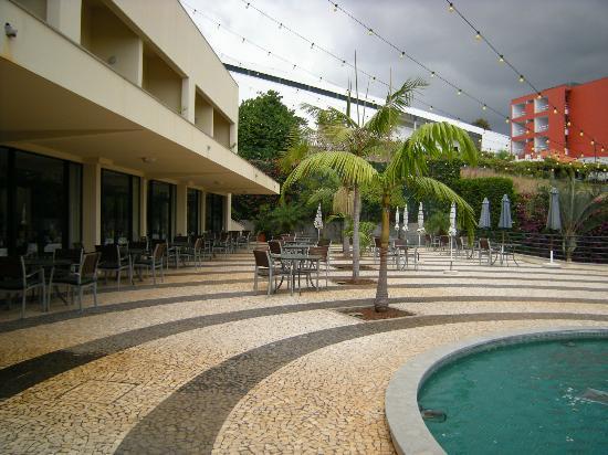 Madeira Panoramico Hotel : Frühstücksterasse