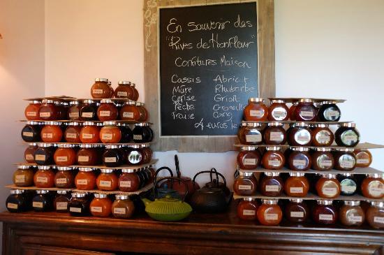 Aux Rives de Honfleur : Les confitures ...