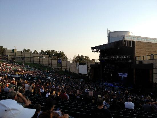 Fiddler's Green Amphitheatre: Stage View From Section 201