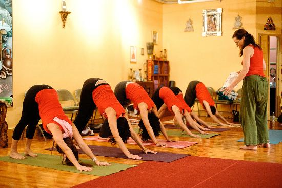 Small Group Teachings During A Teacher Training Picture Of Dharma Yoga Center New York City Tripadvisor