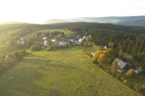 Landschafts-Gasthaus Bräutigam Hanses: Luftaufnahme Schanze
