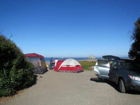 Campsite No 8 Picture Of Sonoma Coast State Beach