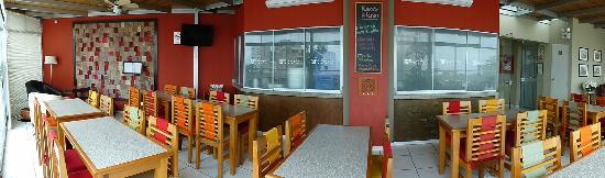Hotel Runcu Miraflores: Cafetería