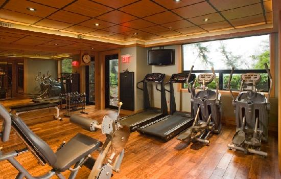 Wickaninnish Inn and The Pointe Restaurant: Fitness Room