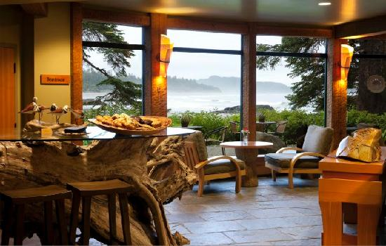 Wickaninnish Inn and The Pointe Restaurant: Driftwood Café