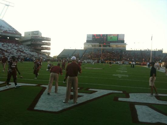 Williams-Brice Stadium: The view from the endzone