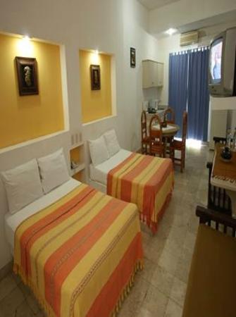 Hotel Plaza Huatulco: Habitacion dos camas