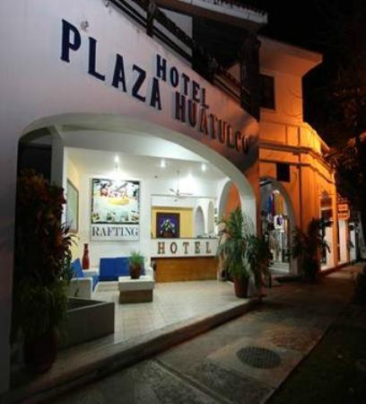 Hotel Plaza Huatulco: Fachada del lobby