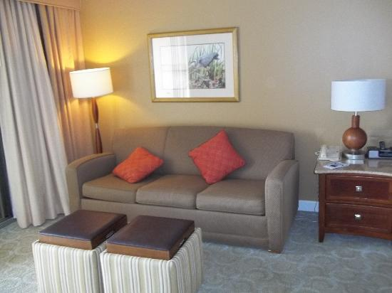 Omni Amelia Island Plantation Resort: Our Hotel Room!