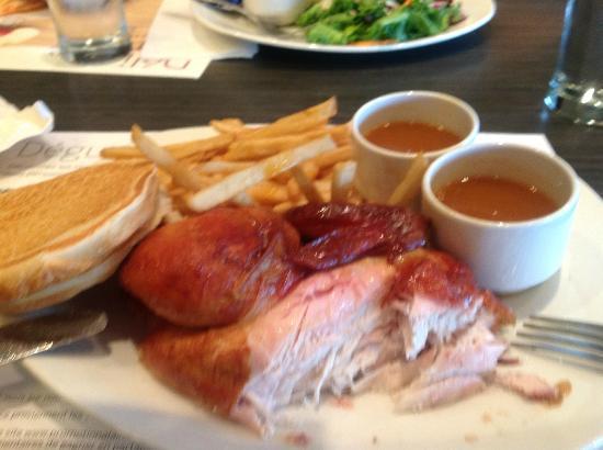 St-Hubert: Half Chicken Dish