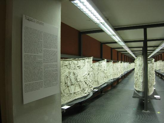 Museo della Civilta Romana: replica of carvings