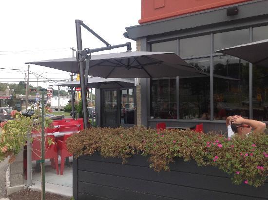St-Hubert: Outdoor Dining Area