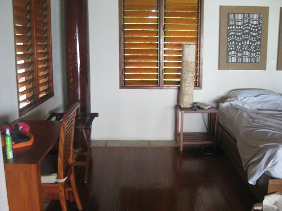 Toberua Island Resort: Loved the shutters