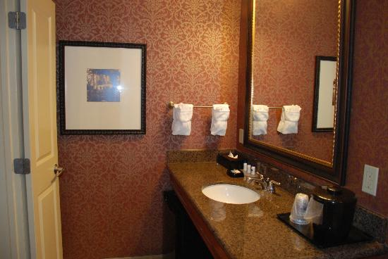 BEST WESTERN Savannah Historic District: Nice bathroom