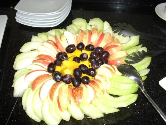 Number 63: Fruit platter booked for function