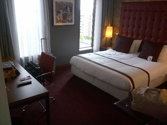 Crowne Plaza Amsterdam South: Bedroom area