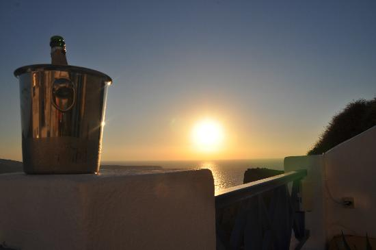 Esperas: Sunset champagne