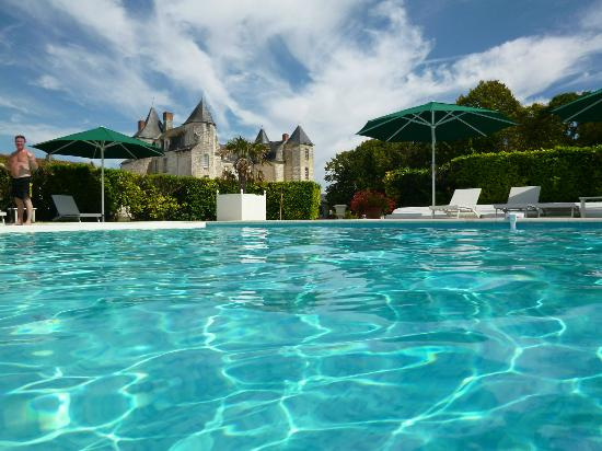Chateau de Marcay: The pool