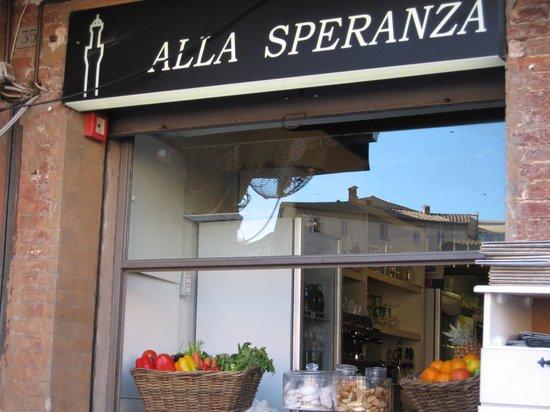 Ristorante Alla Speranza: Ristorant all Speranza--Piazza Il Campo, Siena