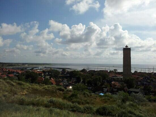 Νησί Terschelling, Ολλανδία: uitzicht over West Terschelling