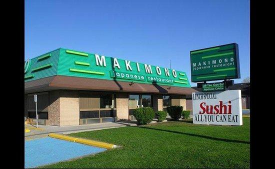Makimono: front
