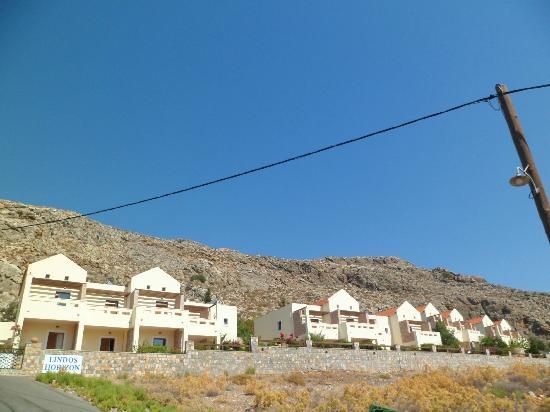 Lindos Horizon: The apartment blocks
