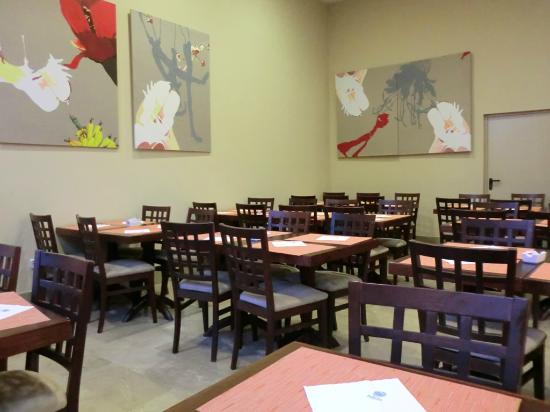 Ganivet Hotel: Frühstücksraum
