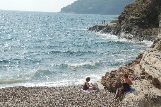 Hotel Rio sul Mare: the beach