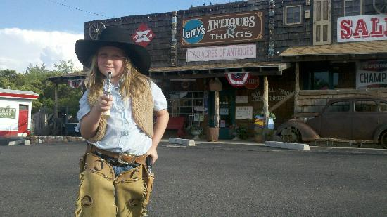 ‪‪Larry's Antiques & Things‬: western antiques - girl not included‬