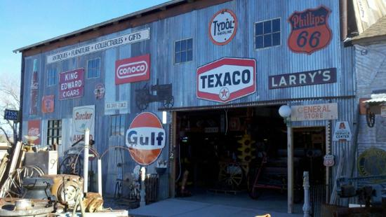 Larry's Antiques & Things: vintage porcelin signs