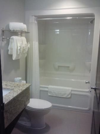 Midland Inn & Suites: Our wheelchair accessable bathrooms