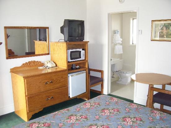 Apple Inn Motel: The oak media center