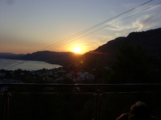Pefkos Blue: Sunset