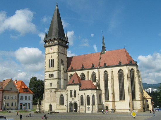 St. Egidius Basilica : St.Egidius (St. Gilles) Basilica, Bardejov, Slovakia
