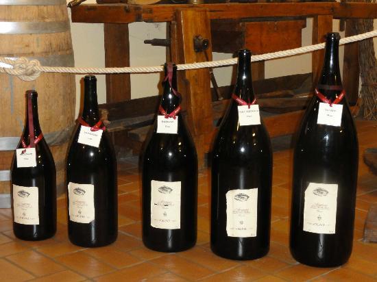 Zeni Winery and Wine Museum: From Jeroboam to Nebuchadnezzar