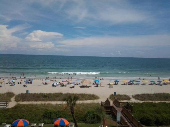 Carnival Inn & Suite @ The Beach: View from the balcony