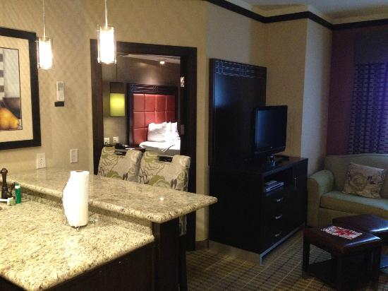 StayBridge Suites DFW Airport North: Dining Area