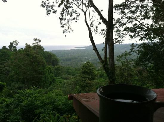 Samasati Retreat & Rainforest Sanctuary: I saw the sunrise everyday.