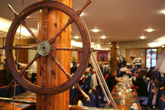 Britannia Spice Qtr Deck to Main deck