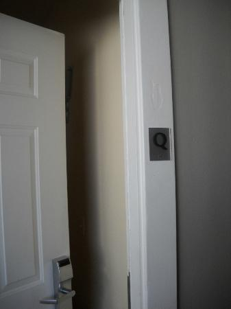 Found Hotel San Diego: Door to Room Q