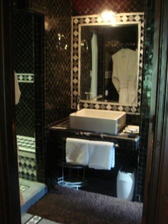 Tajmakane: salle de bain
