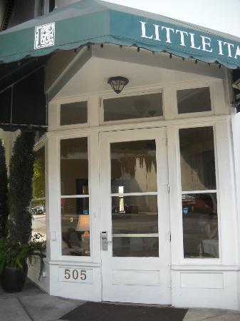 Found Hotel San Diego: Front Door