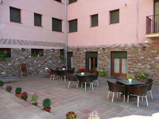 Hotel Flor de Neu: Terraza