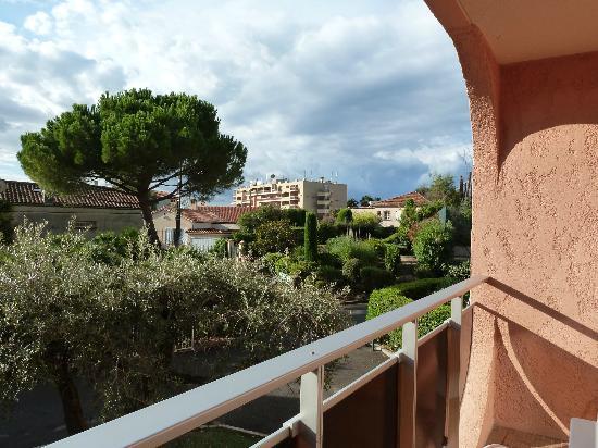 Eden Azur: View from balcony