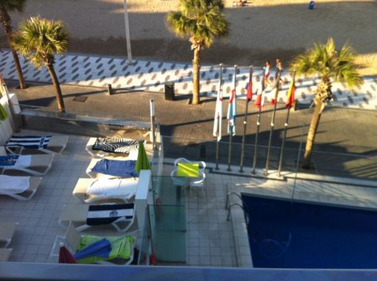 Hotel Brisa: view from our room