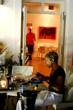 Franca Scala : Si intravedono gli interni