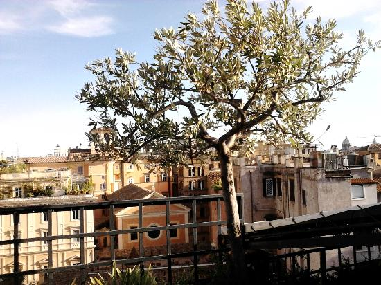 Residenza Napoleone III: View from Roof Garden Terrace