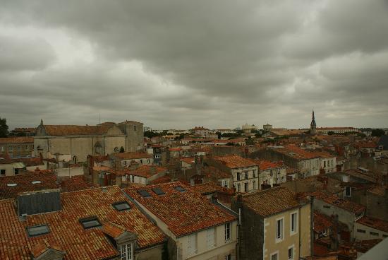 Résidence de France : Panorámica de La Rochelle desde la habitación