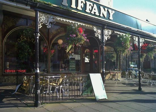 Tiffany Cafe Bar: Tiffany, Llandudno